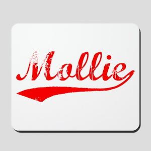 Vintage Mollie (Red) Mousepad