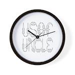 USAF Uncle Wall Clock