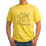 USAF Uncle Yellow T-Shirt