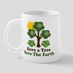 Save A Tree Save the Earth Mug