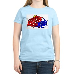 BO GRAFF RED BLUE GOLD Women's Light T-Shirt