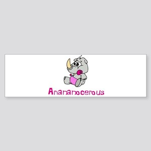 Ariananocerous Bumper Sticker