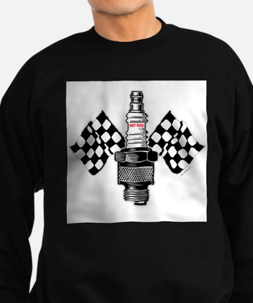 SPARK PLUG and FLAG Sweatshirt