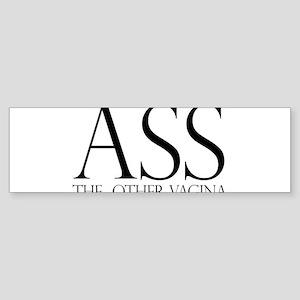 Ass.... (large) Bumper Sticker