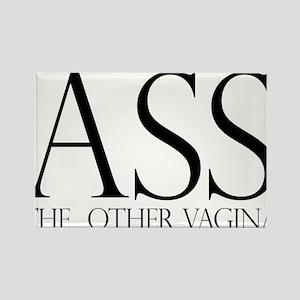 Ass.... (large) Rectangle Magnet