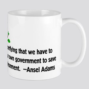 Fighting Government For The Envi 11 oz Ceramic Mug