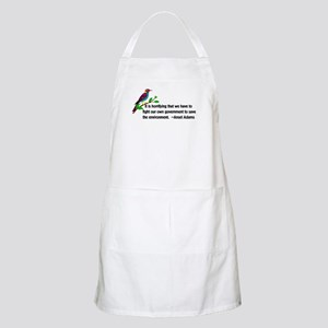 Fighting Government For The Environmen Light Apron