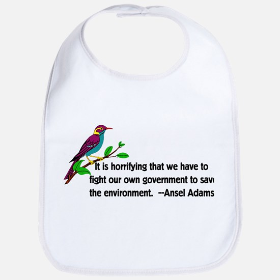 Fighting Government For The Enviro Cotton Baby Bib