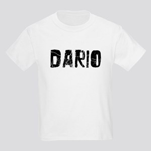 Dario Faded (Black) Kids Light T-Shirt
