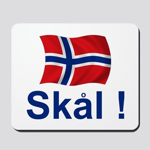 Norwegian Skal! Mousepad