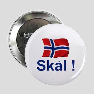 """Norwegian Skal! 2.25"""" Button"""
