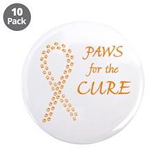 Orange Paws4Cure 3.5