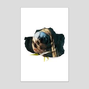 Vermeer Rose Mini Poster Print