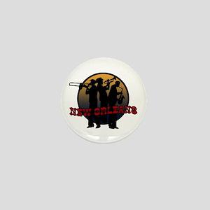 Retro New Orleans Mini Button