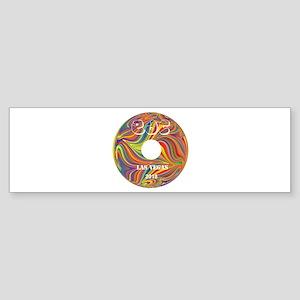Electric Daisy Carnival Record Bumper Sticker