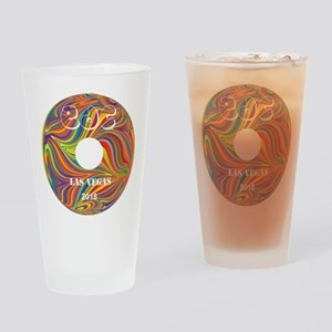 Electric Daisy Carnival Record Drinking Glass
