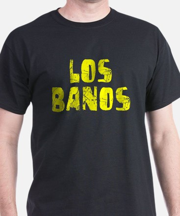 Los Banos Faded (Gold) T-Shirt