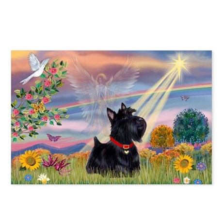 Cloud Angel & Scotty Postcards (Package of 8)