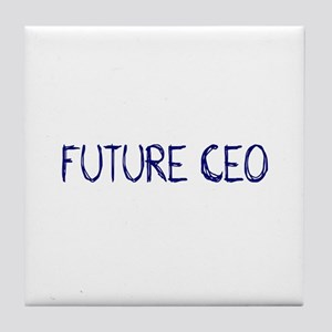 Future CEO Tile Coaster