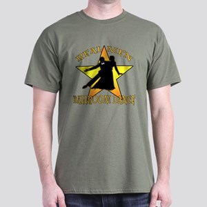 Real Men Ballroom Dance Dark T-Shirt