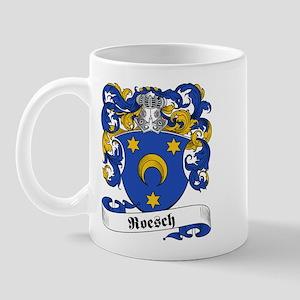 Roesch Family Crest Mug