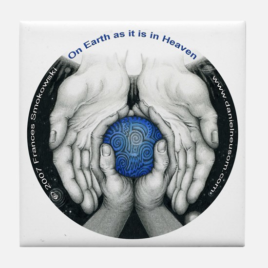 Heaven's Circle Tile Coaster