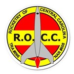 Rocc Logo Round Car Magnet