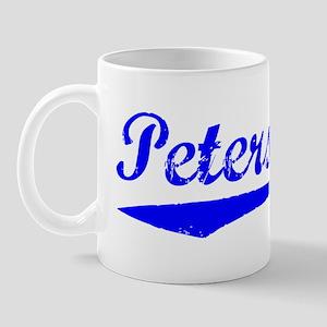 Vintage Petersburg (Blue) Mug