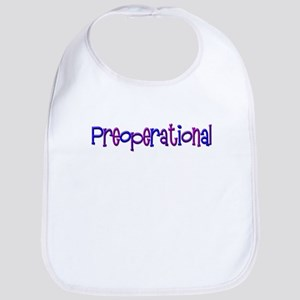 Preoperational (blue) Bib