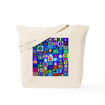 Sacred Animal Songs Tote Bag
