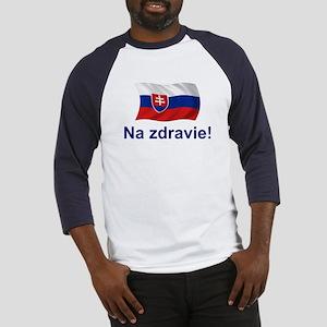 Slovak Na Zdravie! Baseball Jersey