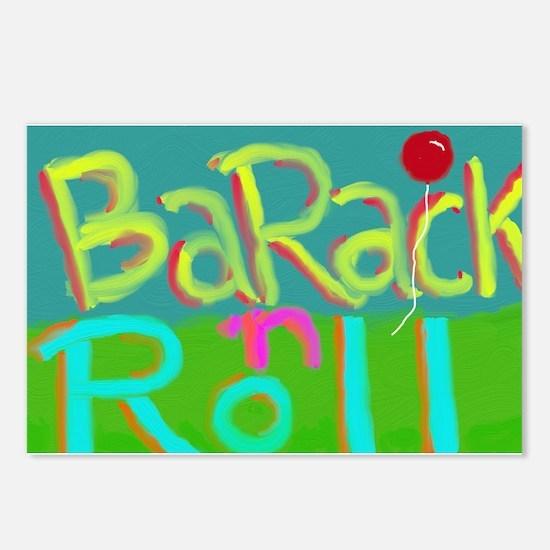 Barack 'n Roll Postcards (Package of 8)