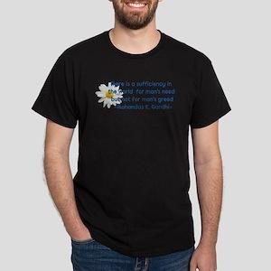 Need Not Greed Dark T-Shirt