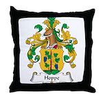 Hoppe Family Crest Throw Pillow