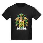 Hoppe Family Crest Kids Dark T-Shirt