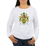 Hoppe Family Crest Women's Long Sleeve T-Shirt