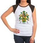 Hoppe Family Crest Women's Cap Sleeve T-Shirt
