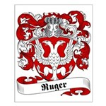 Ruger Family Crest Small Poster