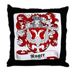 Ruger Family Crest Throw Pillow