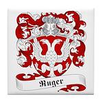 Ruger Family Crest Tile Coaster