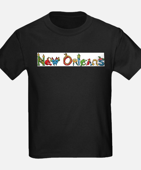 New Orleans Ash Grey T-Shirt