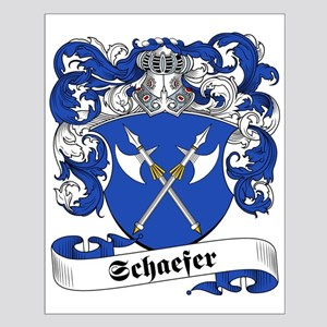 Schaefer Family Crest Small Poster