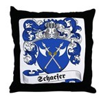 Schaefer Family Crest Throw Pillow