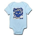 Schaefer Family Crest Infant Creeper