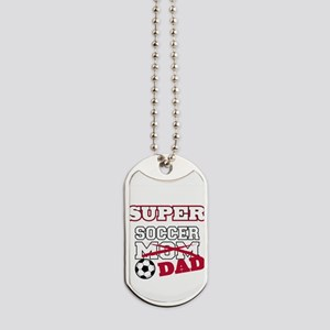 Super Soccer Dad Dog Tags