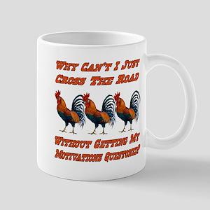 Chicken Sayings Motivations 11 Oz Ceramic Mug Mugs