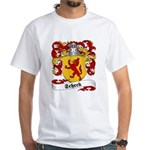 Scheck Family Crest White T-Shirt