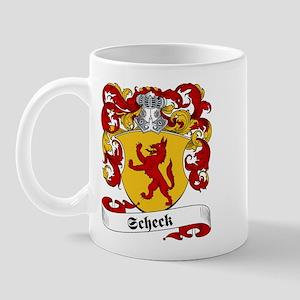 Scheck Family Crest Mug