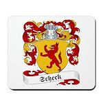 Scheck Family Crest Mousepad