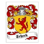 Scheck Family Crest Small Poster